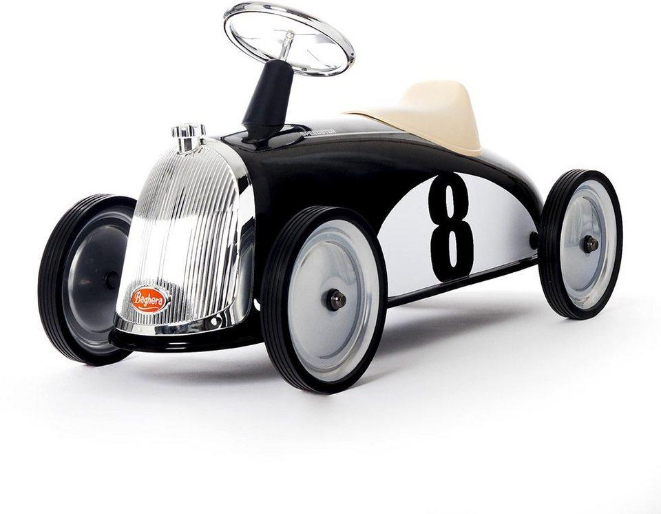 Baghera Rutscherfahrzeug mit Hupe, »Rutscher Rider Schwarz« in schwarz