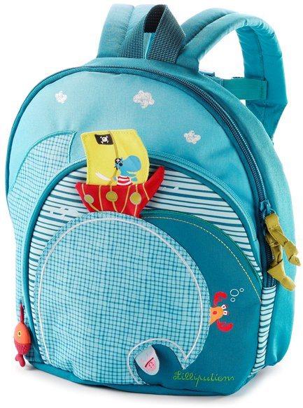 Lilliputiens, Kinderrucksack, »Arnold« in blau