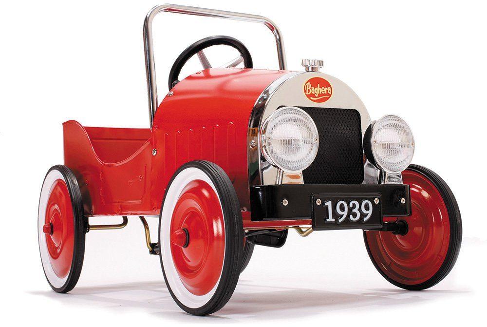 Baghera Tretfahrzeug aus Metall, »Tretauto Rot«