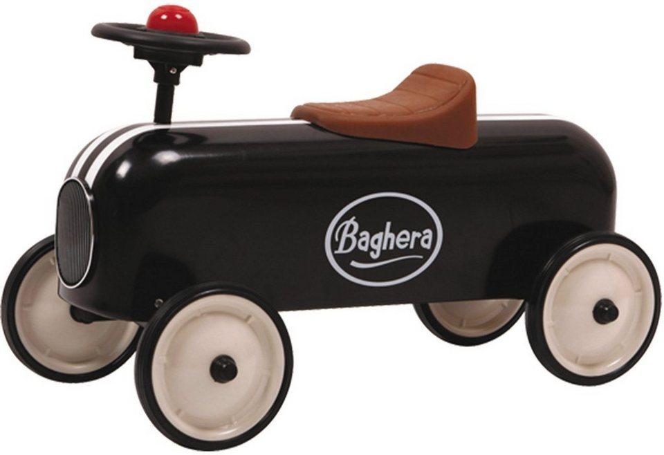 Baghera Rutscherfahrzeug mit Hupe, »Rutscher Racer Schwarz« in schwarz