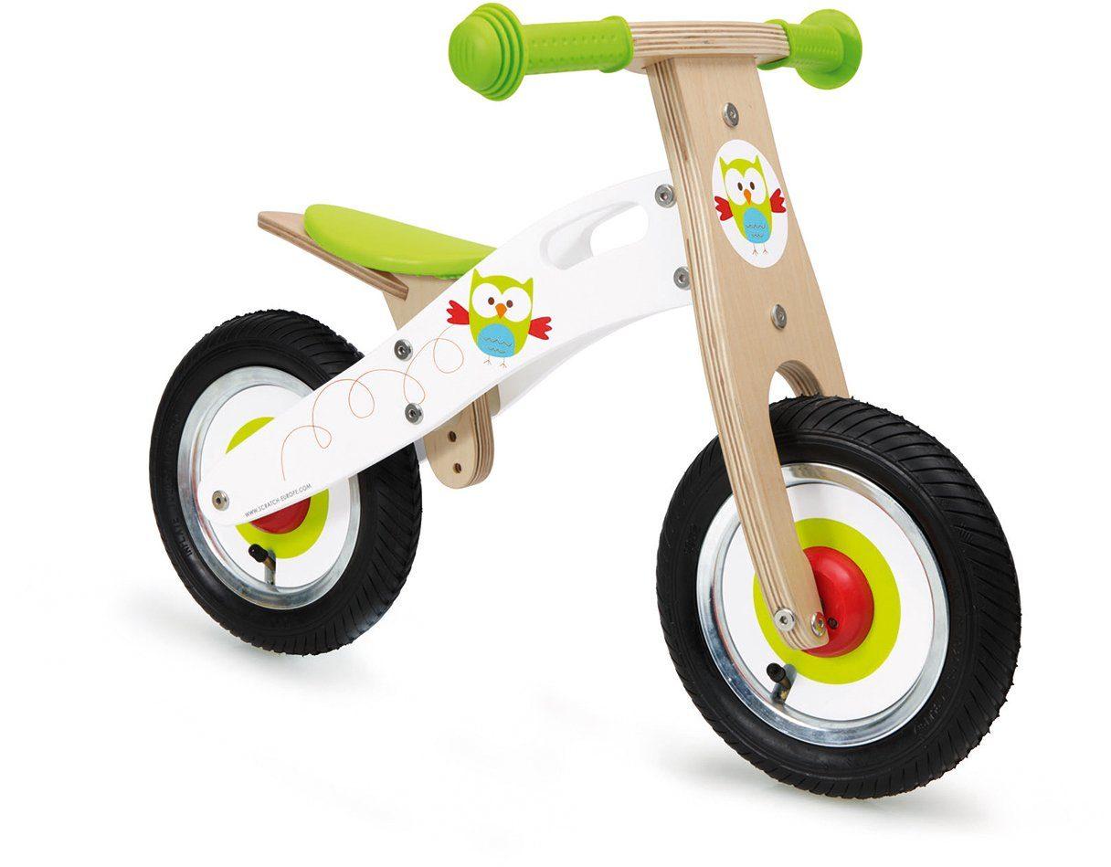 Scratch, Laufrad aus Holz, »Eule, klein«