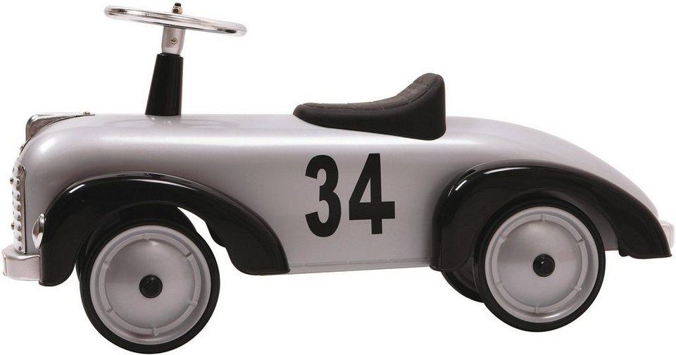 Baghera Rutscherfahrzeug aus Metall, »Rutscher Speedster Silber«