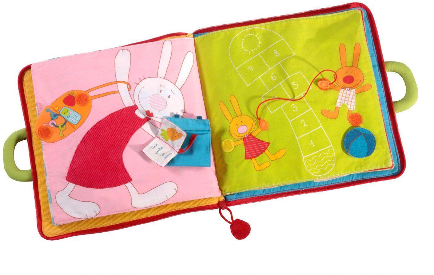 Lilliputiens Stoffbuch, »Guten Tag, kleiner Hase«