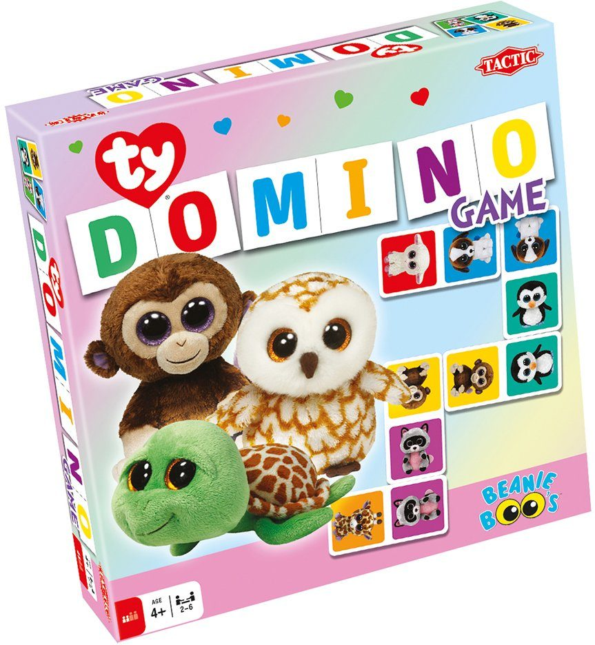 Ty, Dominospiel, »Tactic Beanie Boo´s™ Domino«