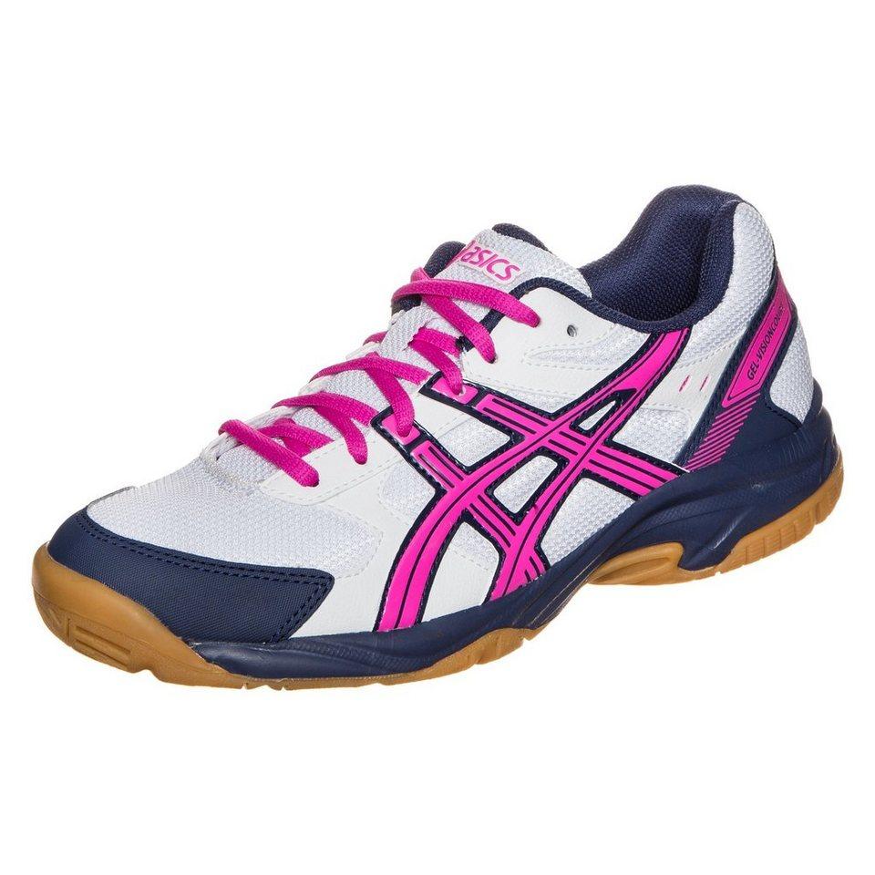 ASICS Gel-Visioncourt Trainingsschuh Damen in weiß / pink / blau