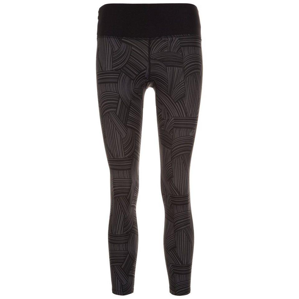ASICS fuzeX 7/8 Lauftight Damen in schwarz / grau