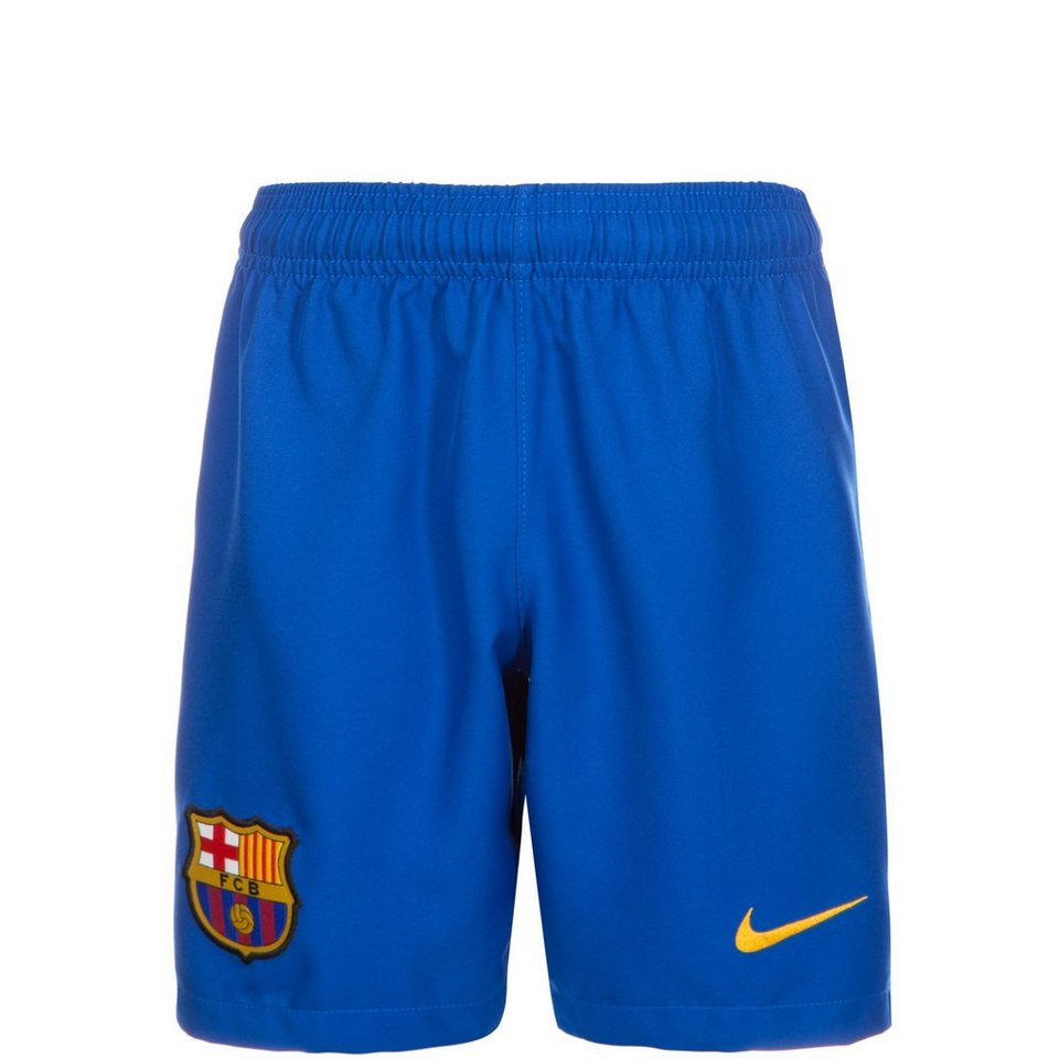 NIKE FC Barcelona Home Short Stadium 2016/2017 Kinder in blau / rot / gold