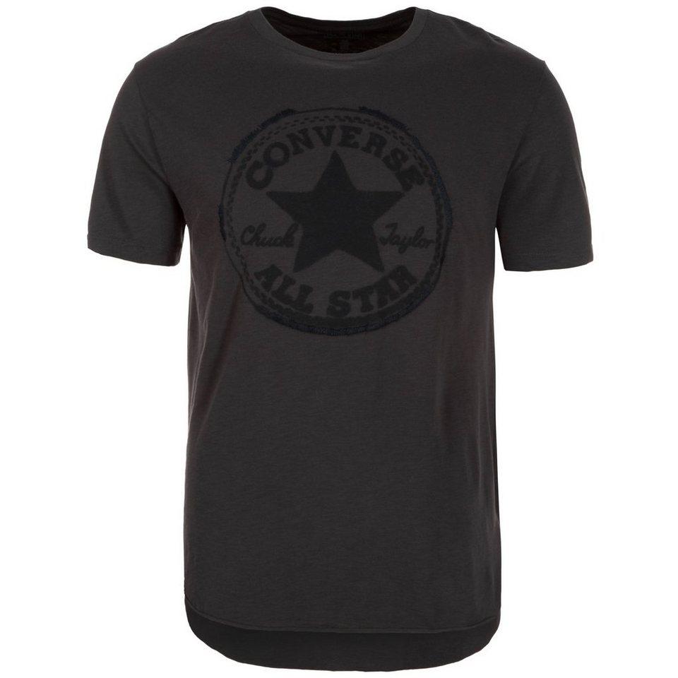 CONVERSE Core Plus Baseball T-Shirt Herren in anthrazit / schwarz