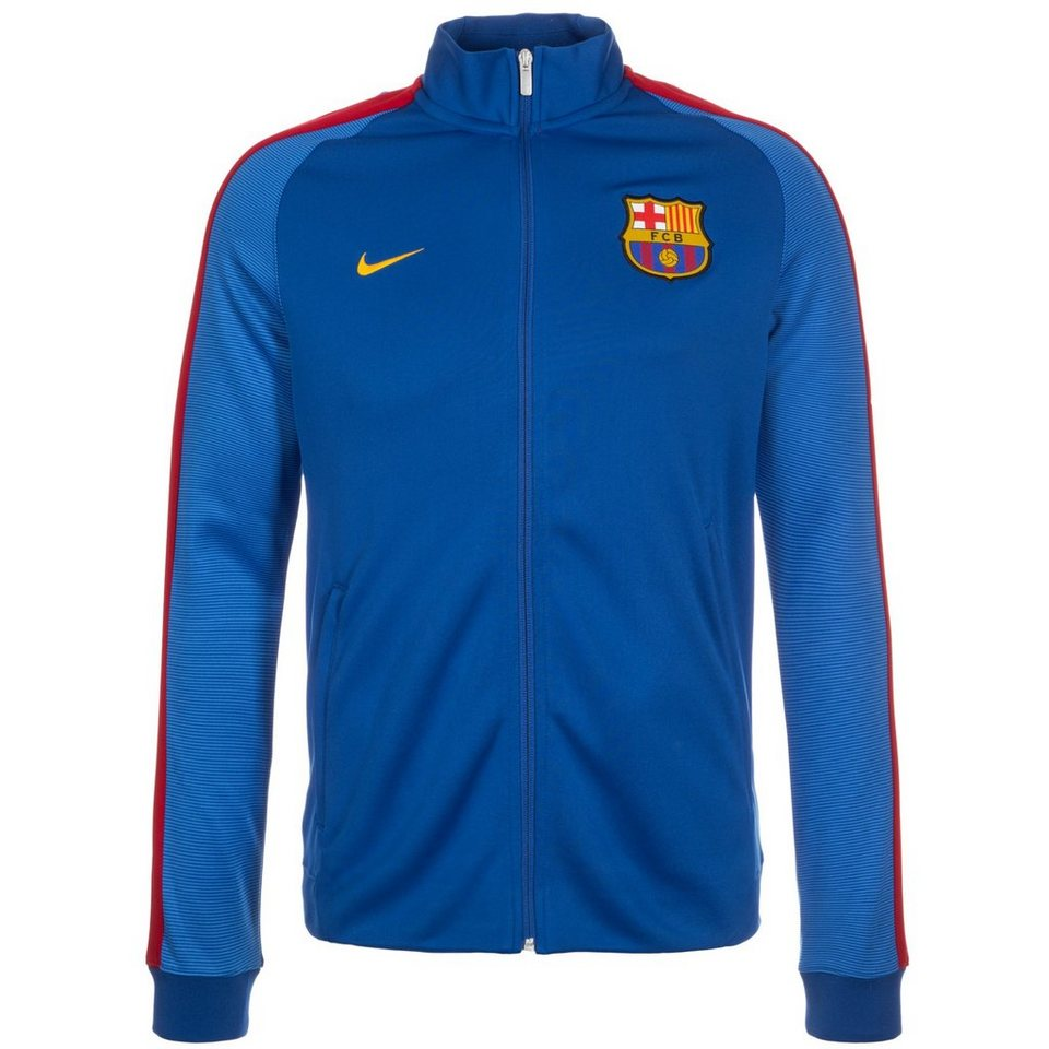 NIKE FC Barcelona Authentic N98 Track Jacke Herren in blau / dunkelblau