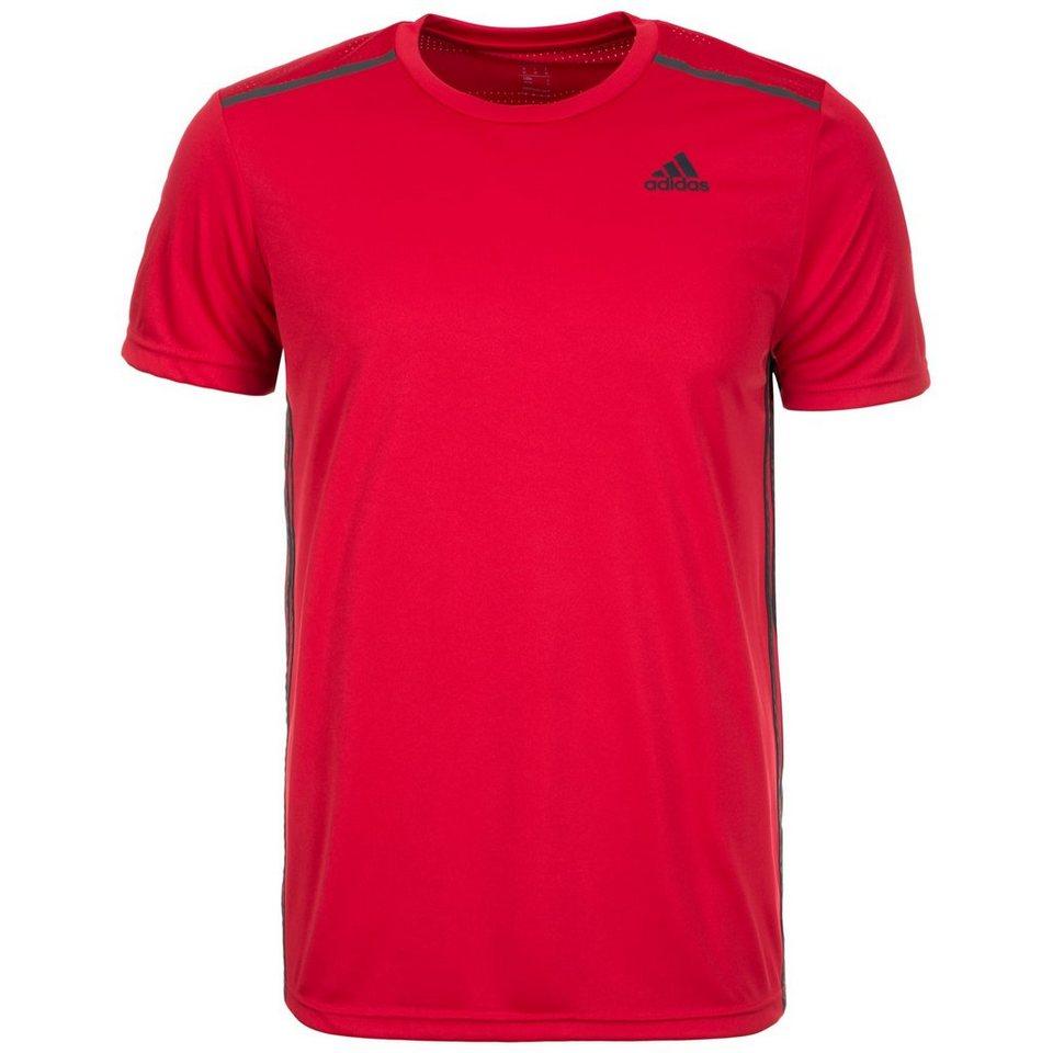 adidas Performance Cool365 Trainingsshirt Herren in rot / schwarz