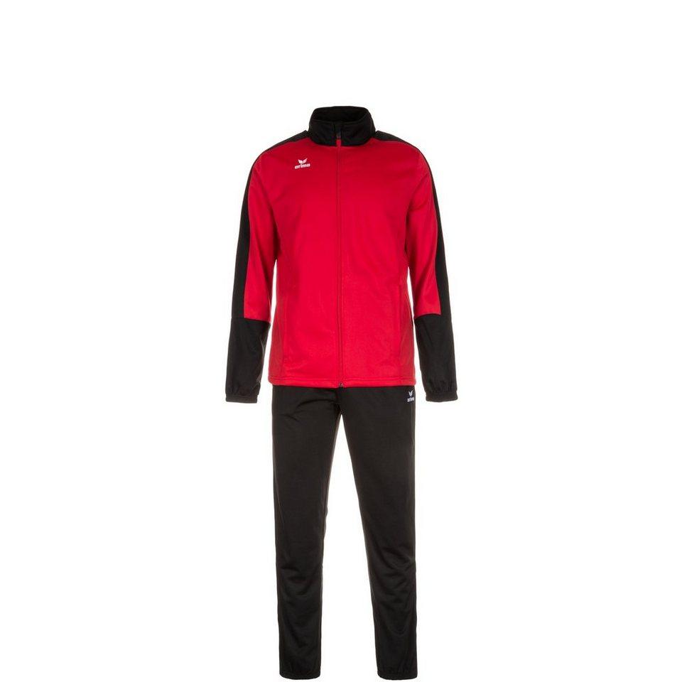ERIMA Toronto 2.0 Trainingsanzug Kinder in rot / schwarz