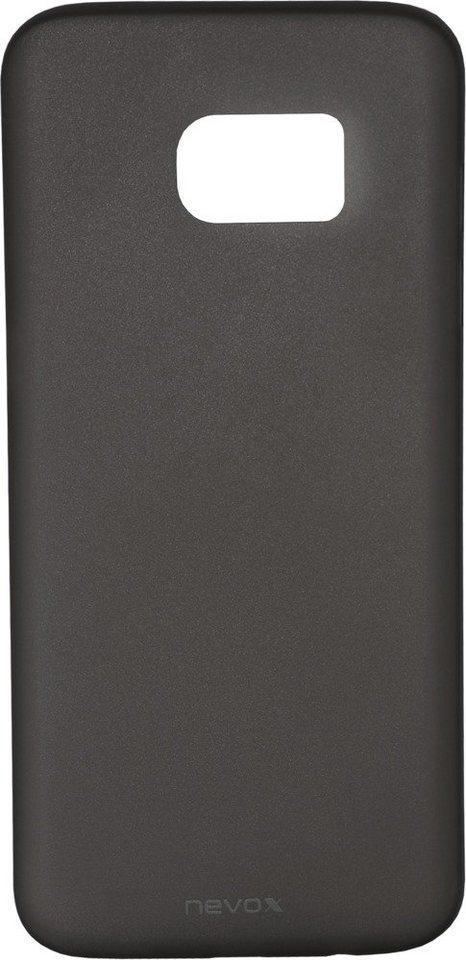 Nevox Ultradünnes Polypropylen Cover für das Galaxy S7 edge »StyleShell Air« in schwarz