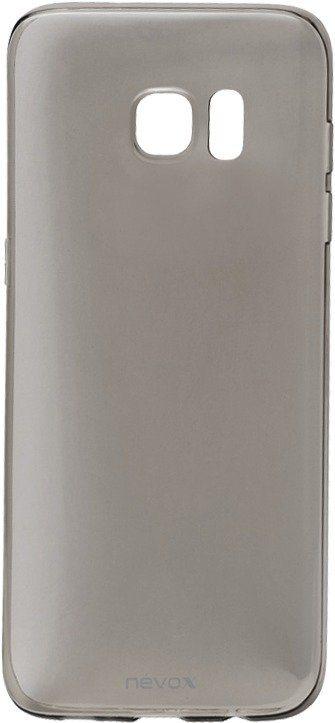 Nevox Sehr dünnes TPU Cover für das Galaxy S7 edge »StyleShell Flex« in schwarz