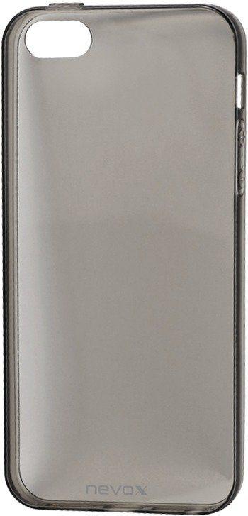 Nevox Sehr dünnes TPU Cover für das iPhone SE »StyleShell Flex« in schwarz