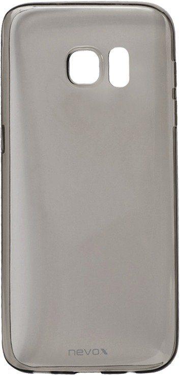 Nevox Sehr dünnes TPU Cover für das Galaxy S7 »StyleShell Flex« in schwarz