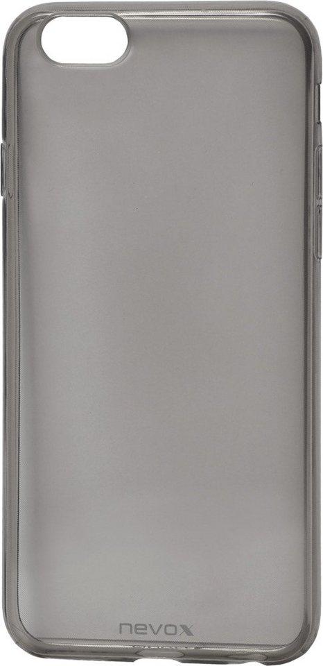 Nevox Sehr dünnes TPU Cover für das iPhone 6/6s »StyleShell Flex« in schwarz
