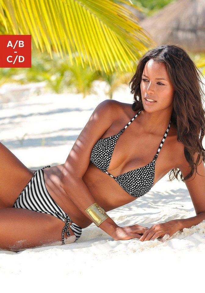 d7f246bc3119d s.Oliver RED LABEL Beachwear Triangel-Bikini im trendigen Mustermix ...