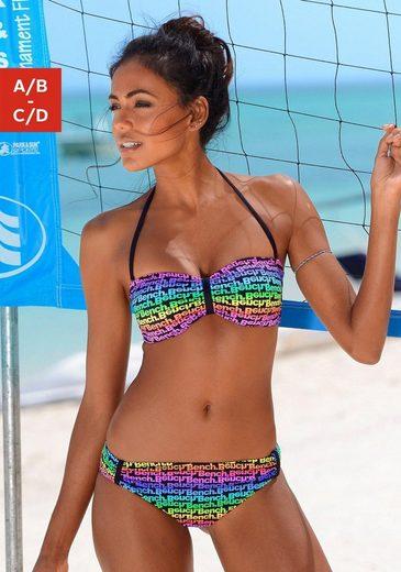 Bench. Bandeau-Bikini »Boom« im bunten Druckdesign oder unifarben