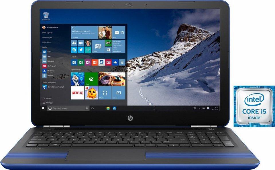HP Pavilion 15-au023ng Notebook, Intel® Core™ i5, 39,6 cm (15,6 Zoll), 1000 GB Speicher in blau