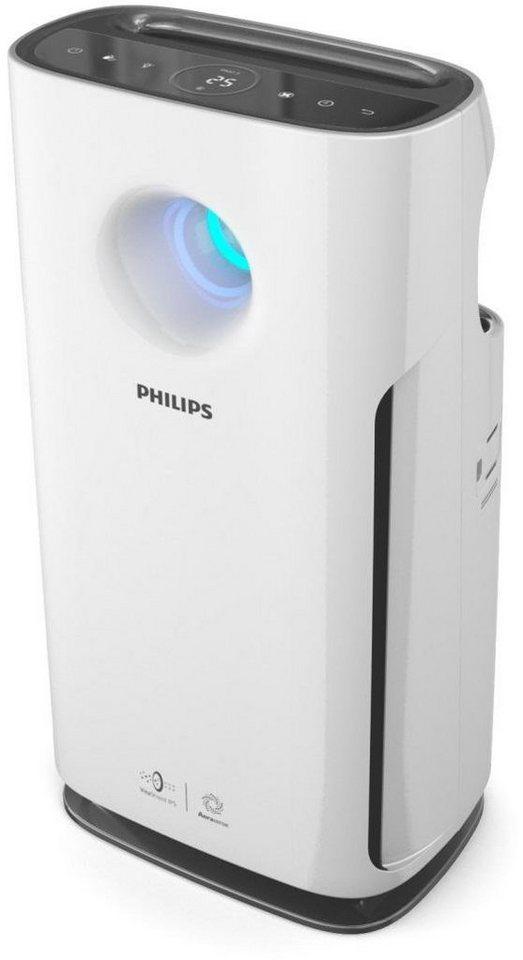 Philips Luftreiniger 3000 Series AC3256/10, für Räume bis 76m² in weiß-schwarz