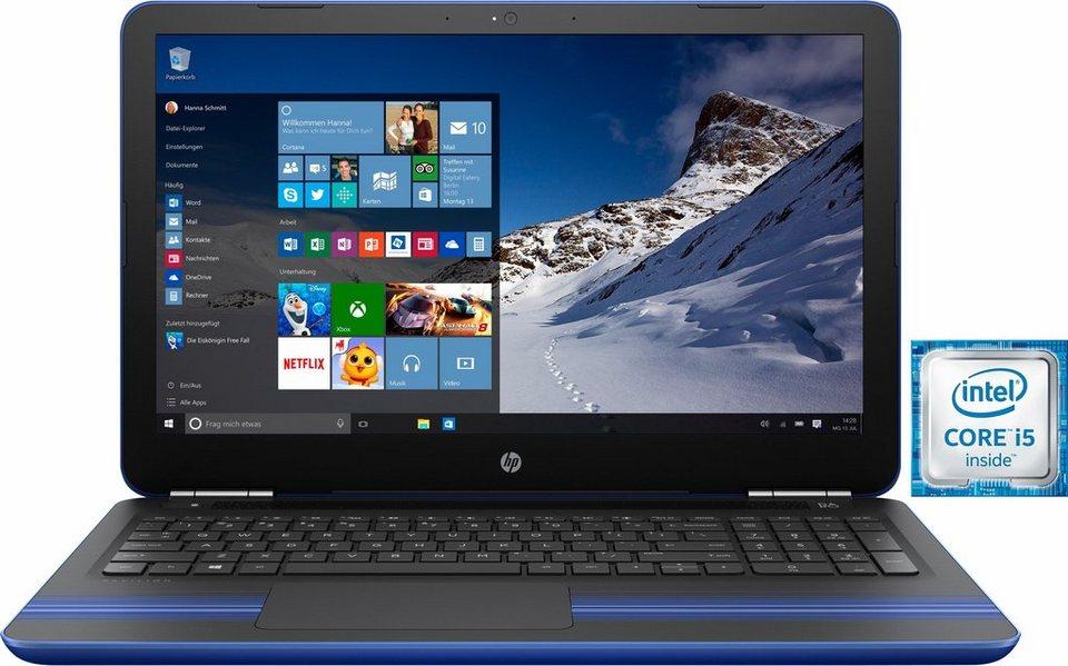 HP Pavilion 15-au04 Notebook, Intel® Core™ i5, 39,6 cm (15,6 Zoll), 1000 GB Speicher in blau