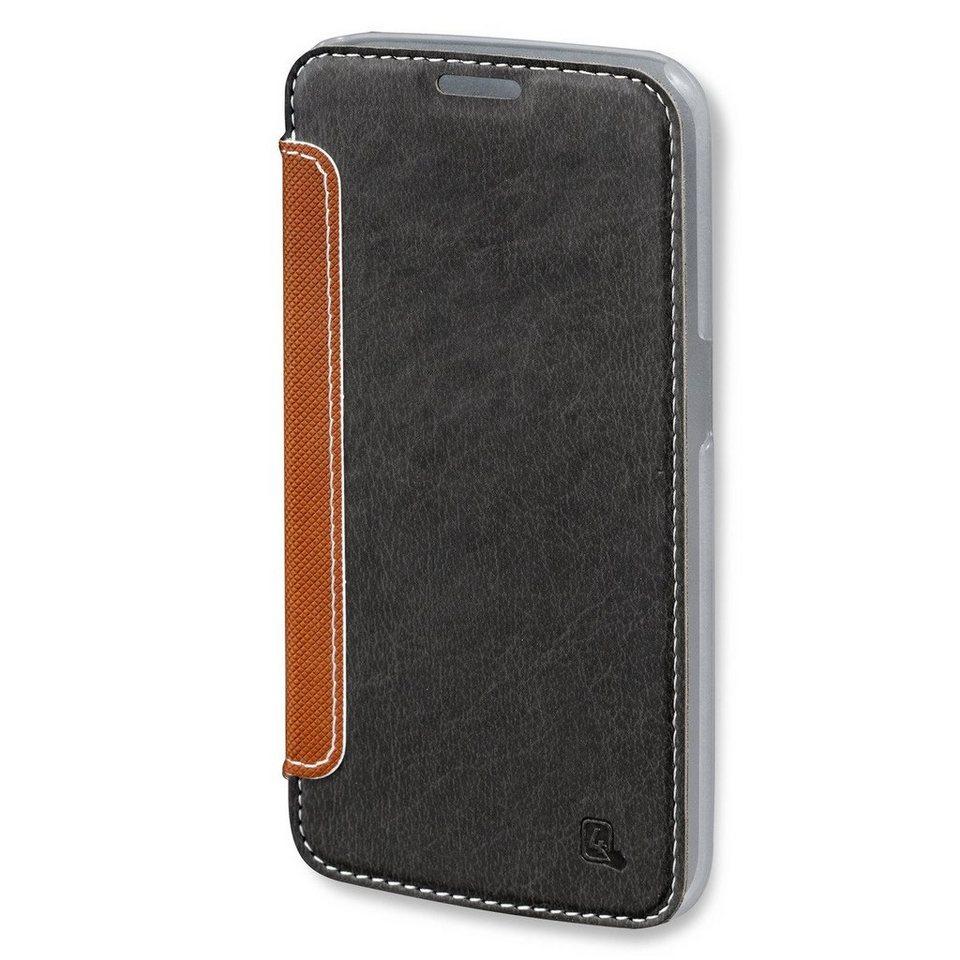 4Smarts Handytasche »NOORD Book für Samsung Galaxy S6« in Schwarz-Braun