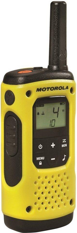 Motorola Funkgerät »TLKR T90 H2O - DUO« in Gelb