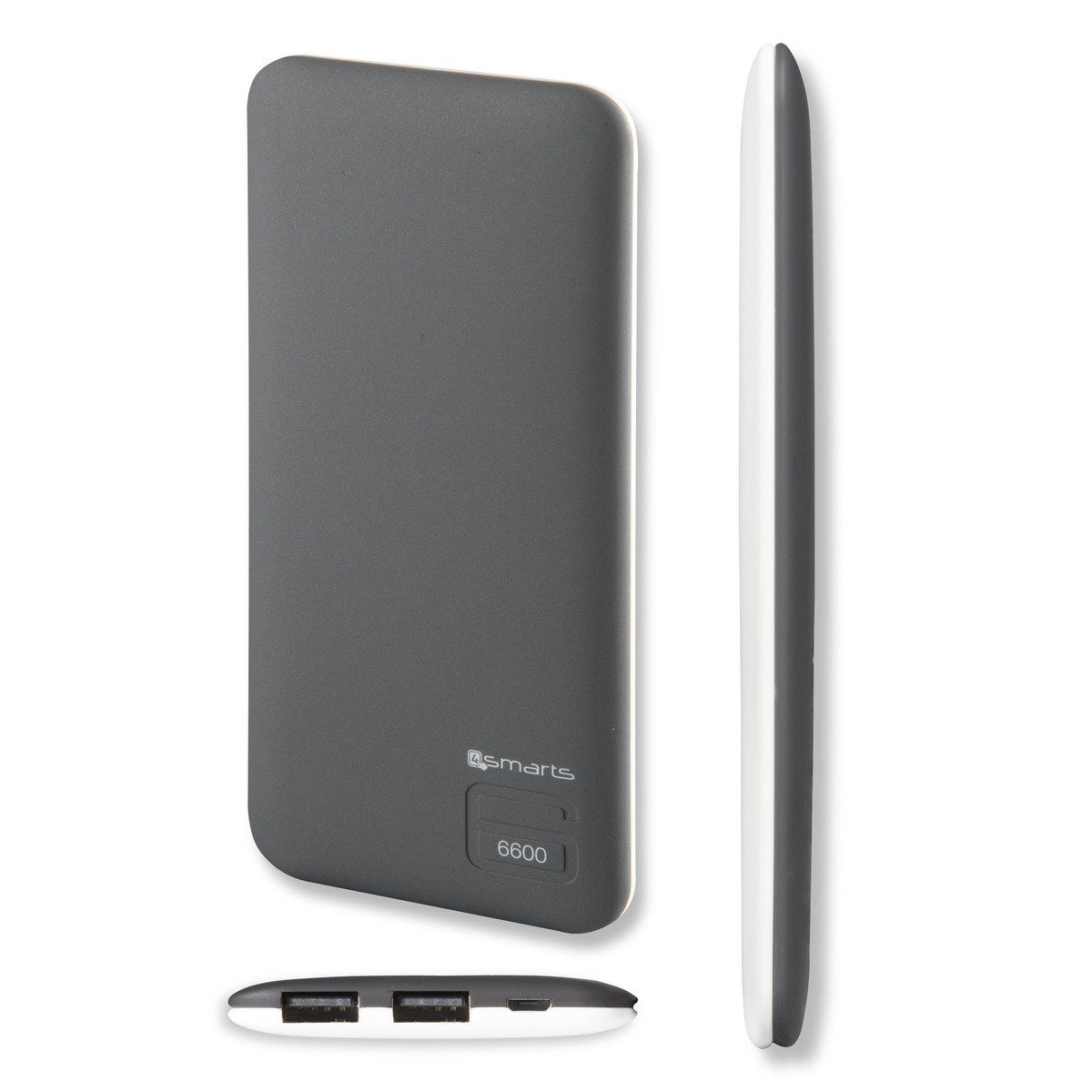 4Smarts Lader »Duos Slim Powerbank 6600 mAh«