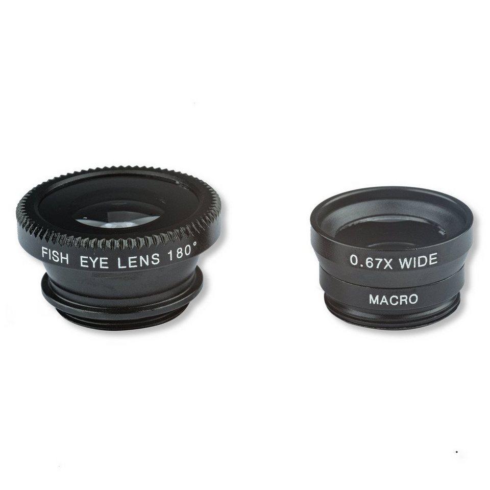 4Smarts Zubehör »Basic Photographer Lens Set für Smartphones« in Schwarz
