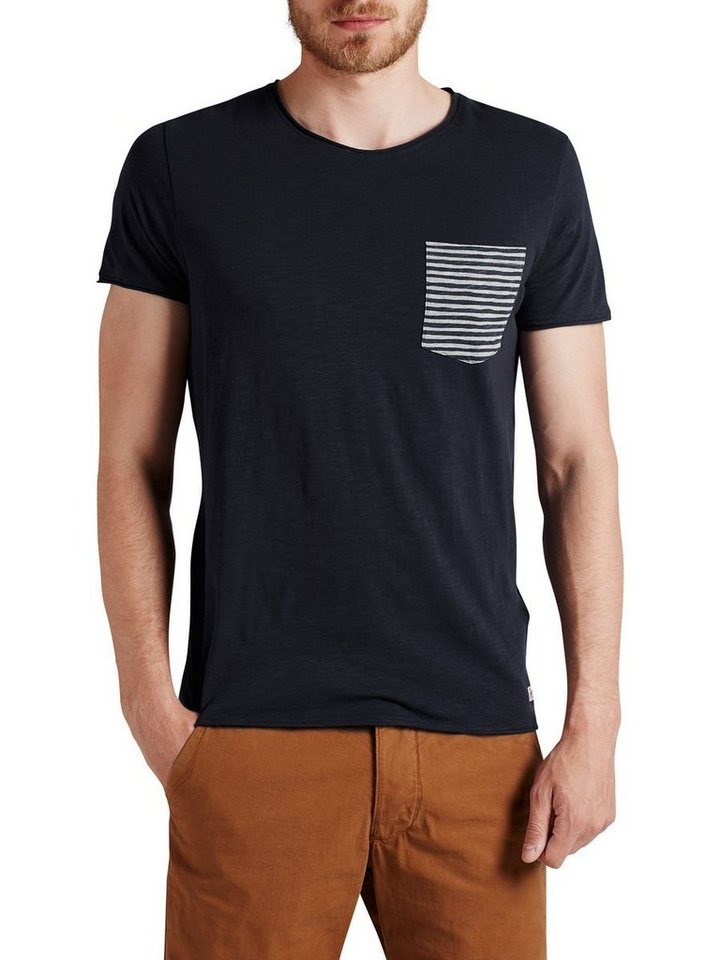 Jack & Jones Sommer- T-Shirt in Navy Blazer