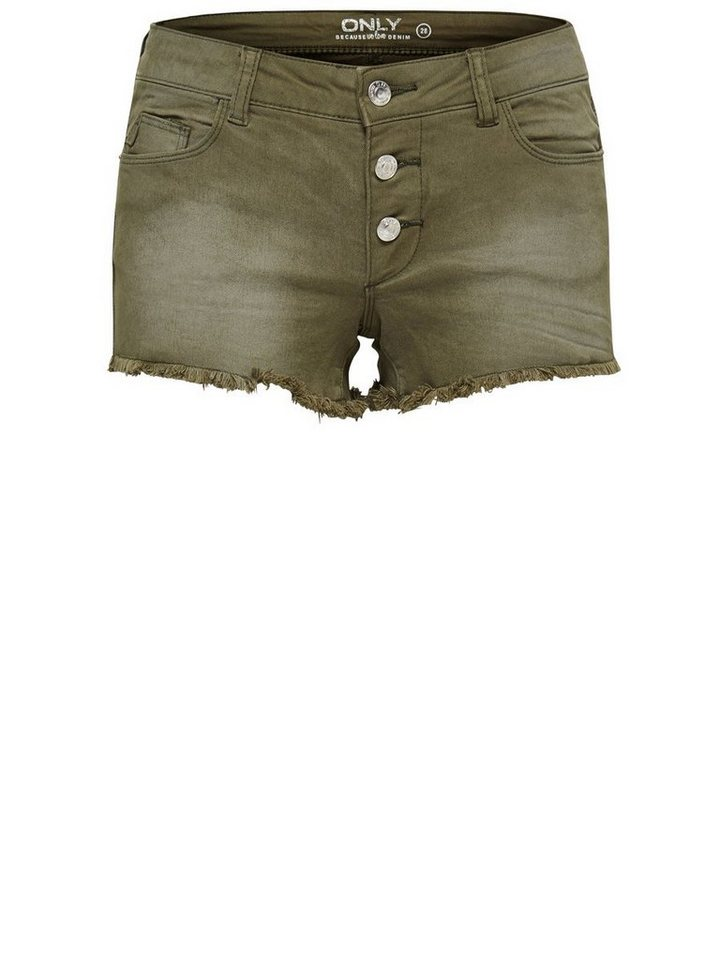 Only Derbe Jeansshorts in Grape Leaf