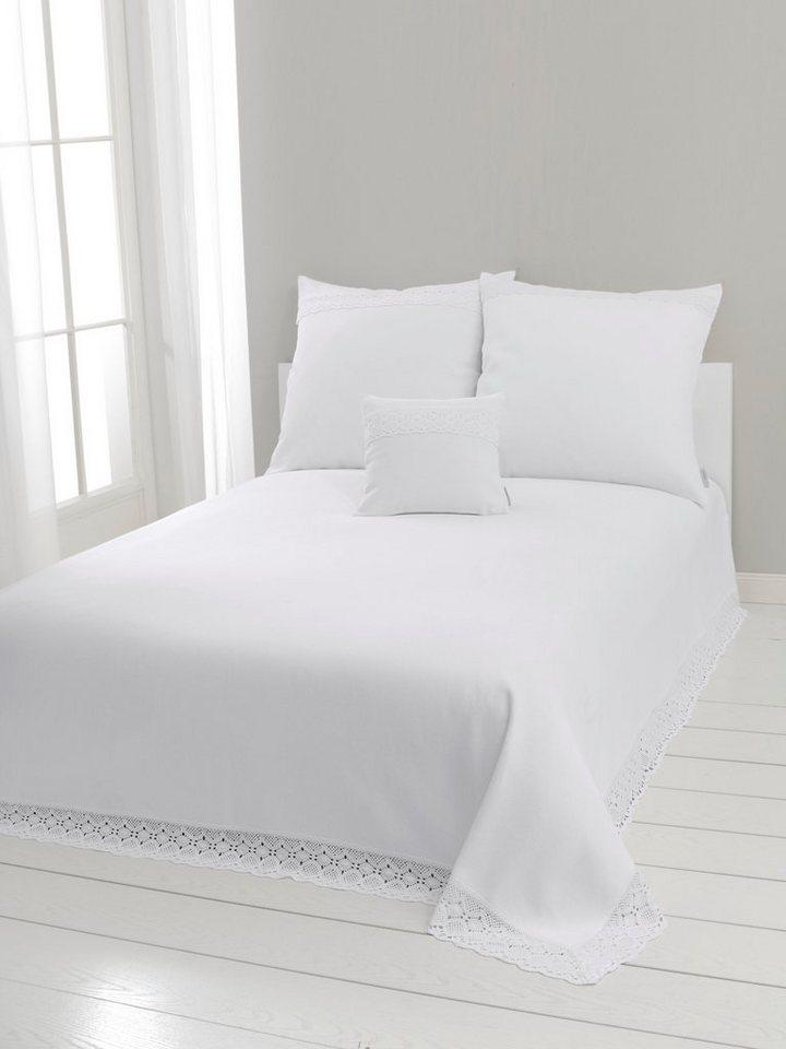 Tagesdecke in weiß