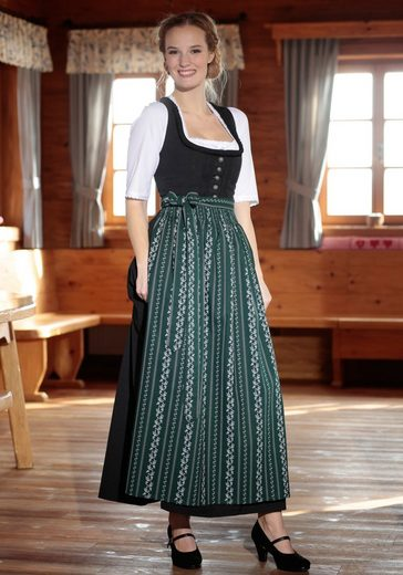 Stocker Point Dirndl With Long Braid