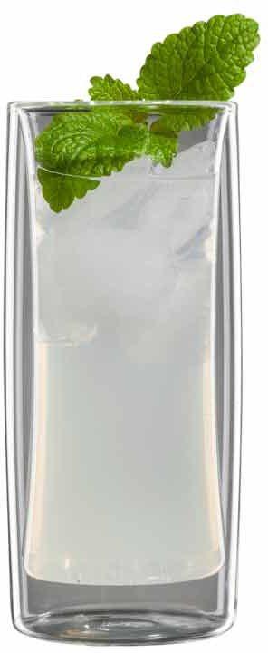 bloomix Set: Limonadenglas, »Kavex« (6tlg.) in transparent
