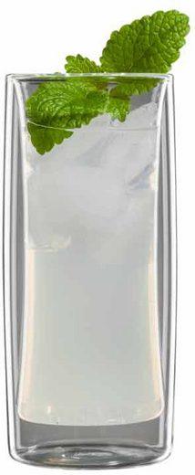 Bloomix Thermoglas »Kavex« (6-tlg), Doppelwandige Ausführung, 290 ml