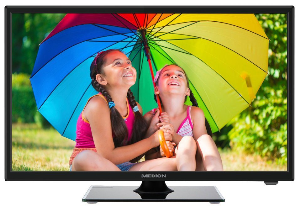 "MEDION® 54,6cm (21,5"") LED-TV LIFE® P13167 »Full HD, Triple Tuner, PVR Ready« in schwarz"