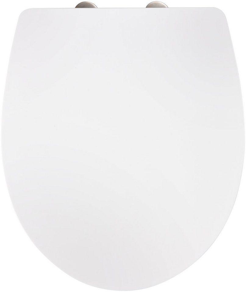WC-Sitz »Imola weiß«, Mit Absenkautomatik in weiß