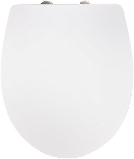 WC-Sitz »Imola weiß«, Mit Absenkautomatik