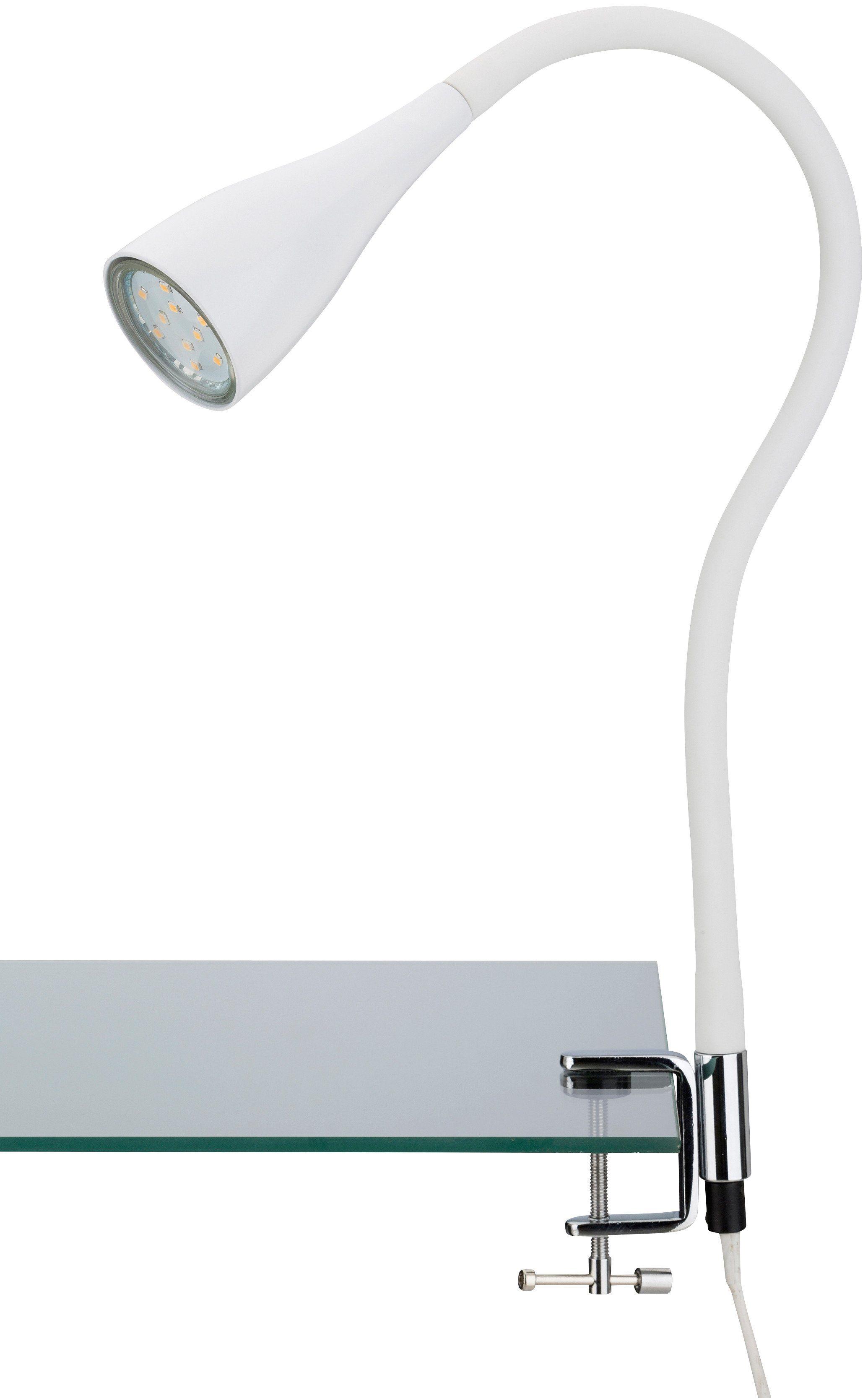 LED Klemmleuchte »Elasti«, weiß, 3W