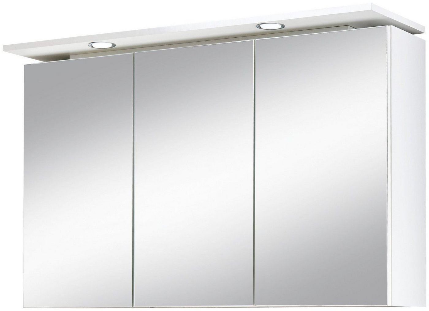 preisvergleich kesper spiegelschrank lugo breite 100 cm mit willbilliger. Black Bedroom Furniture Sets. Home Design Ideas