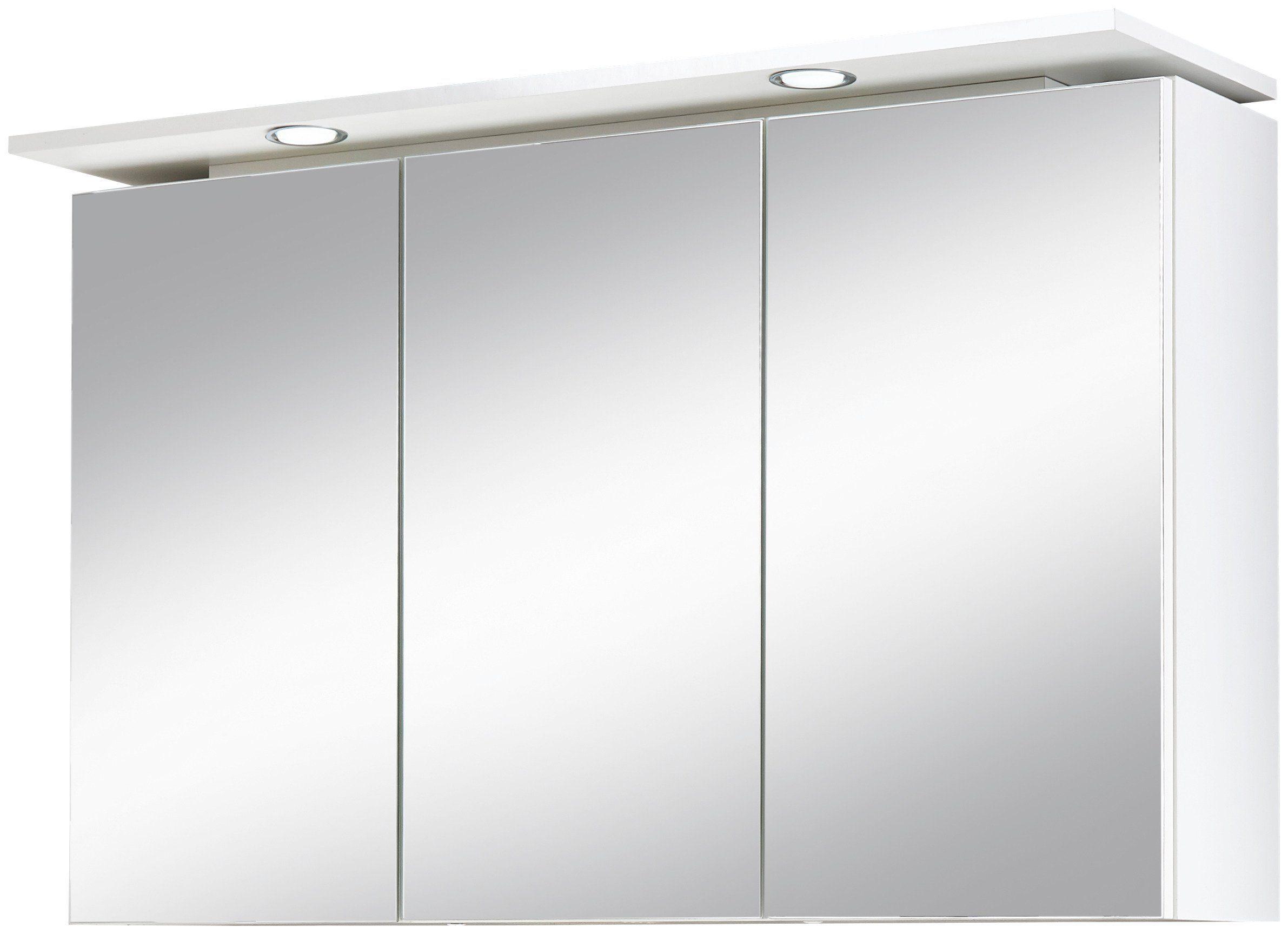 Kesper Spiegelschrank »Lugo« Breite 100 cm, mit LED-Beleuchtung