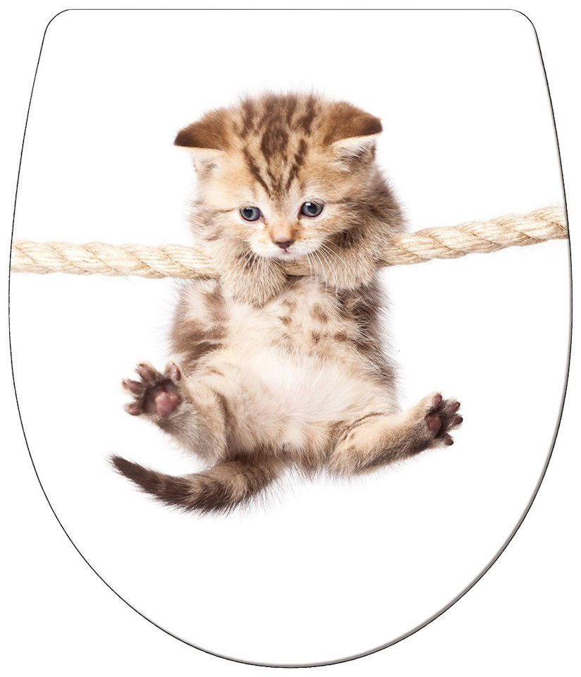 WC-Sitz »Imola Cat«, Mit Absenkautomatik