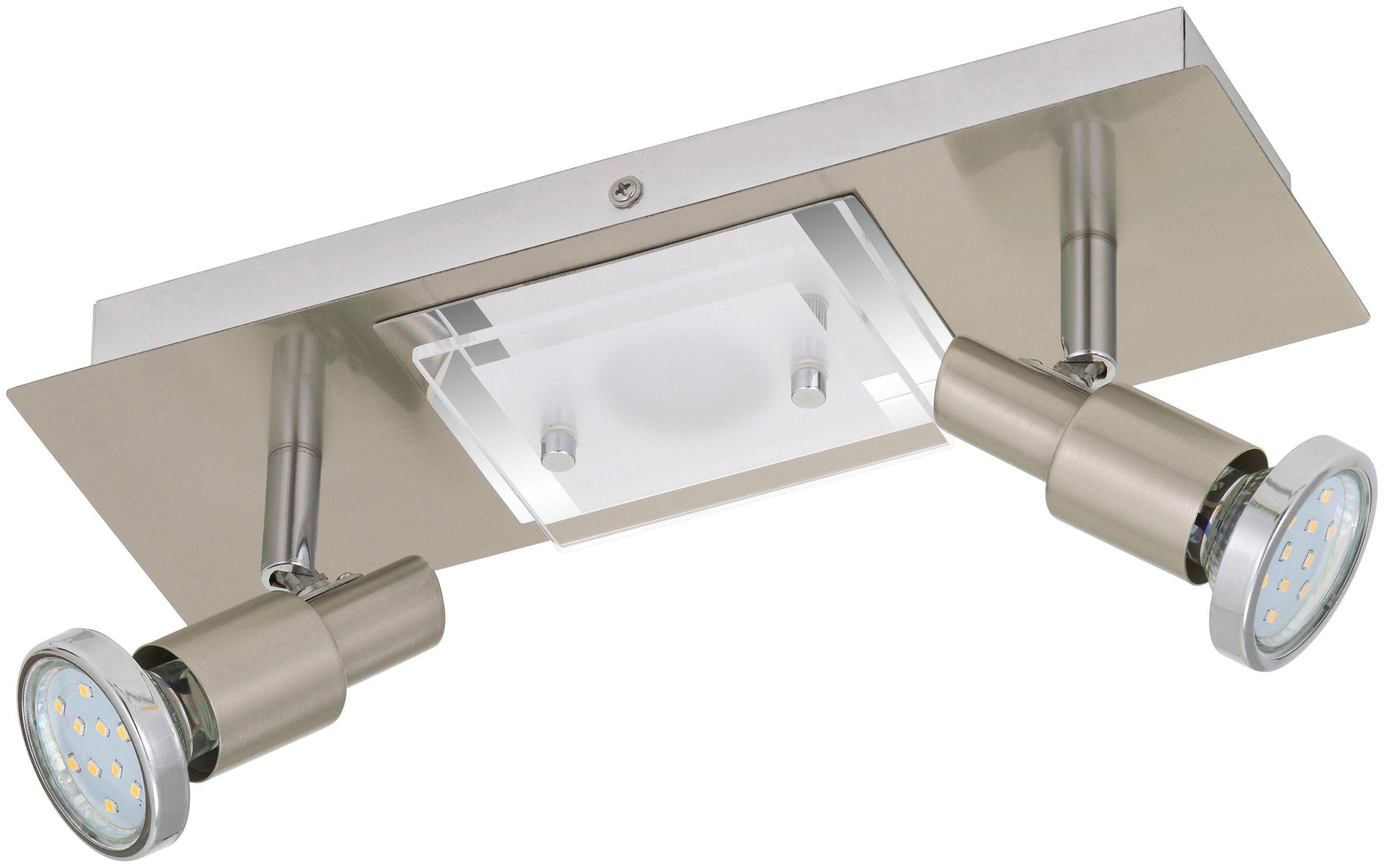 BRILONER LED-Deckenleuchte »Combinata«, 3-flammig, matt-nickel, 3W/5W
