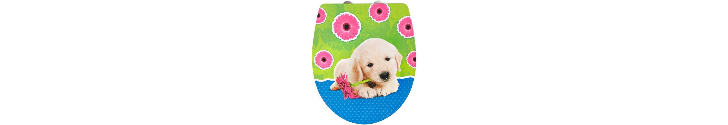 WC-Sitz »Imola Puppy«, Mit Absenkautomatik