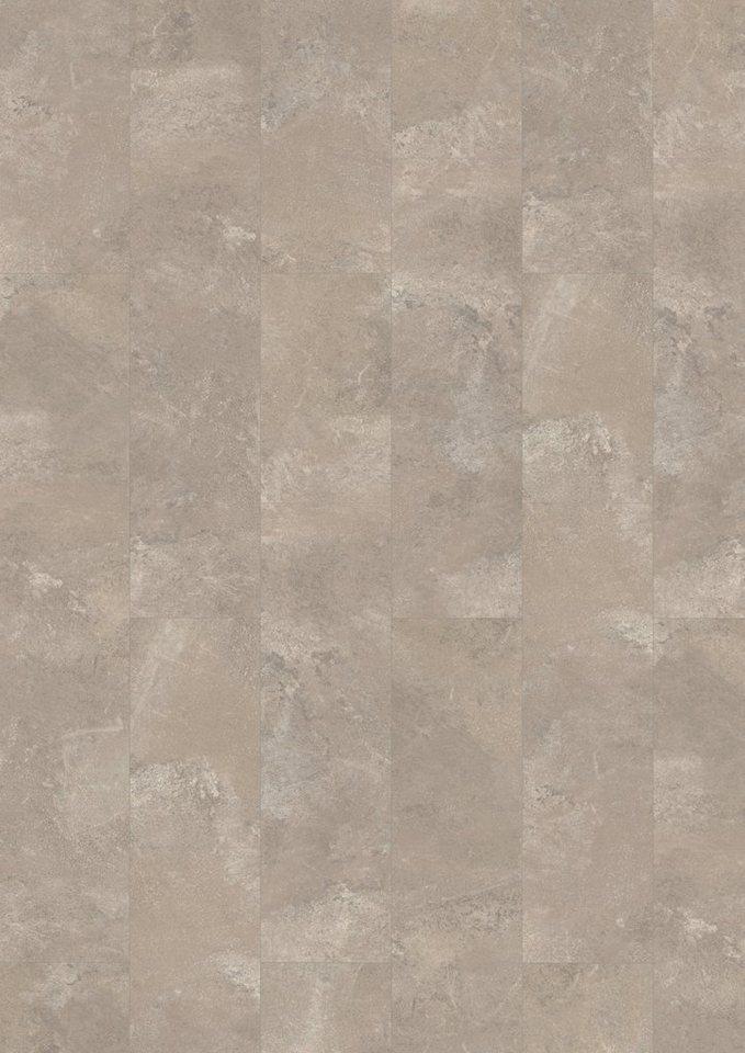 Laminat »Megafloor design+Large«, Stein grau Nachbildung in grau