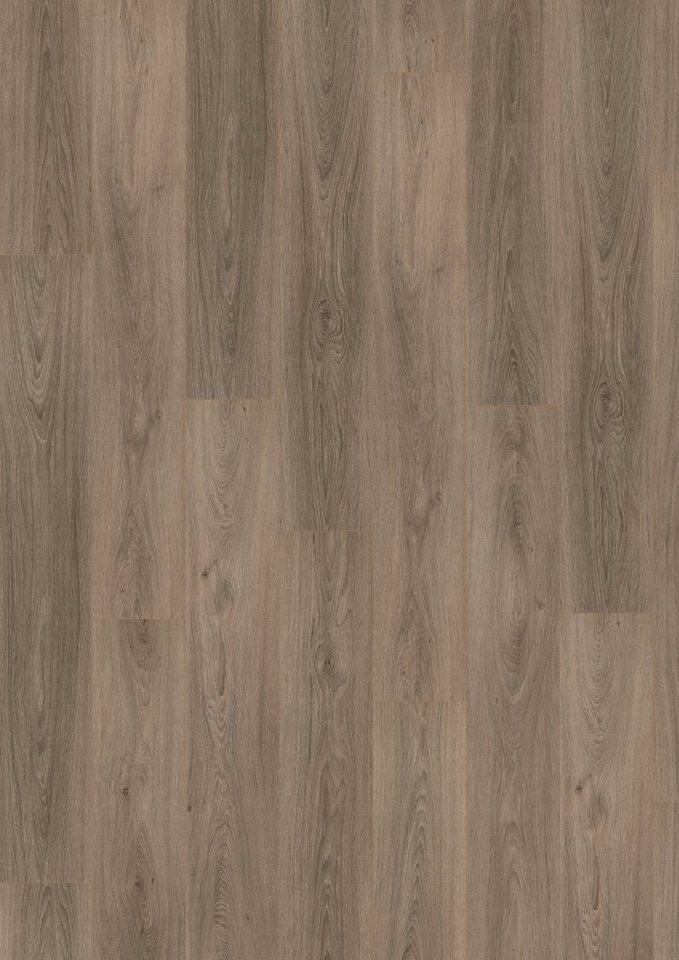 Laminat »Megafloor design+Classic«, Eiche gekalkt grau Nachbildung in grau