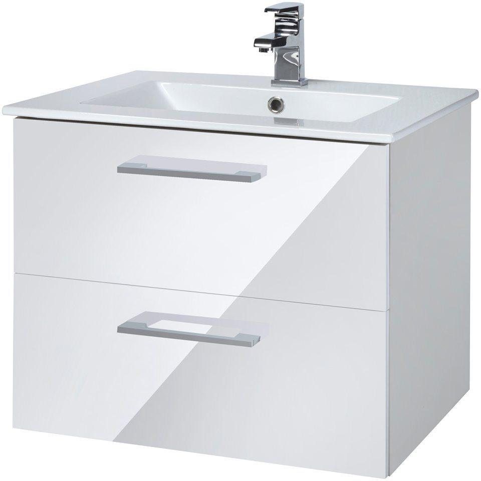 Waschtisch »Trento «, Breite 60 cm, (2-tlg.) in weiß