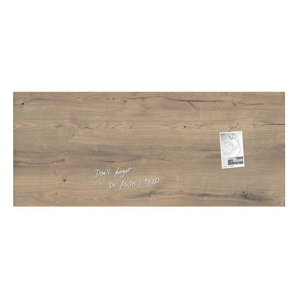 Sigel Glas-Magnettafel »artverum® Natural Wood«
