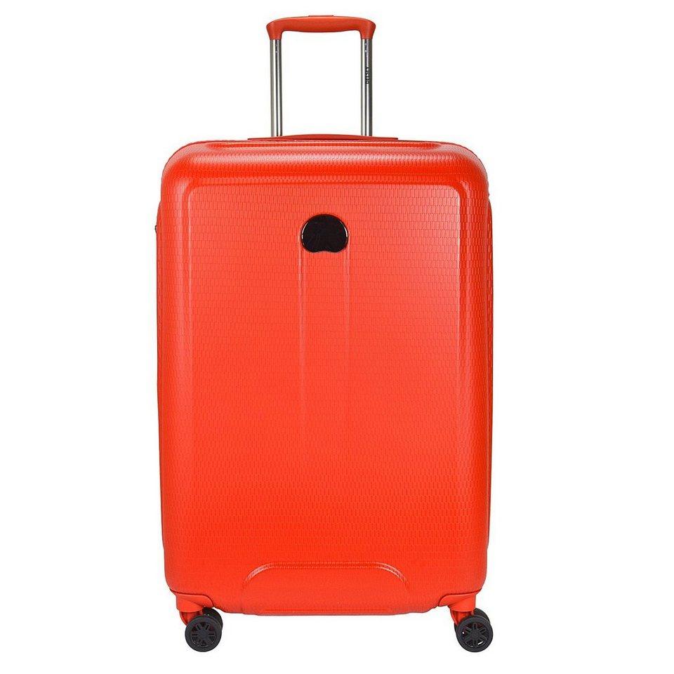 Delsey Helium Air 2 4-Rollen Trolley 70 cm in orange