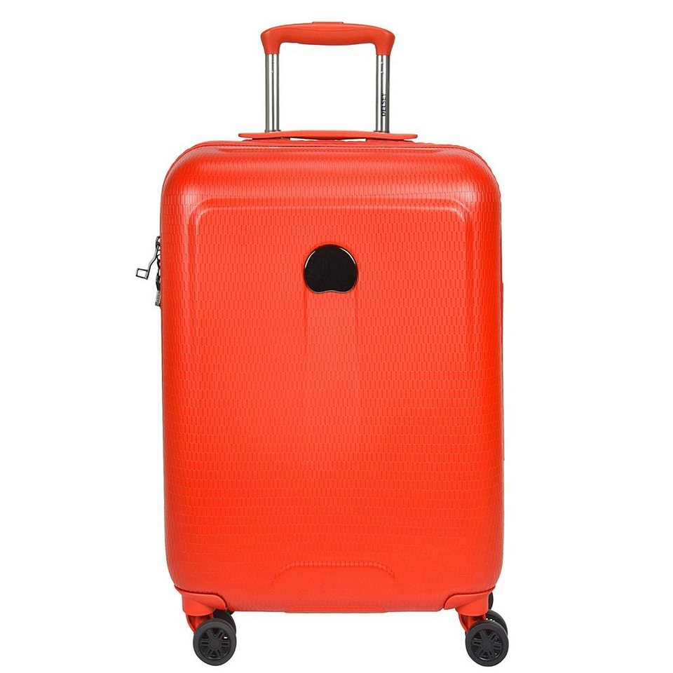 Delsey Helium Air 2 4-Rollen Trolley 64 cm in orange